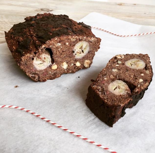 chocolade-bananen-cake