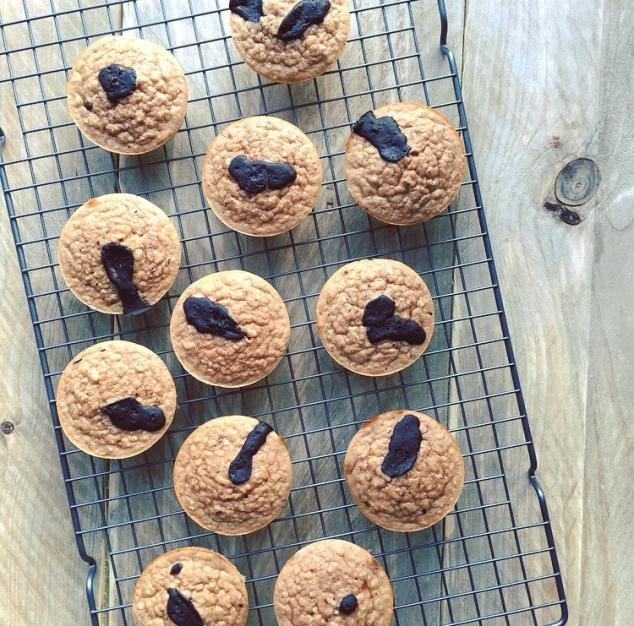 chocola-noten-muffins