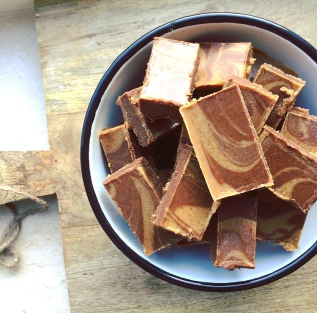 pindakaas-fudge