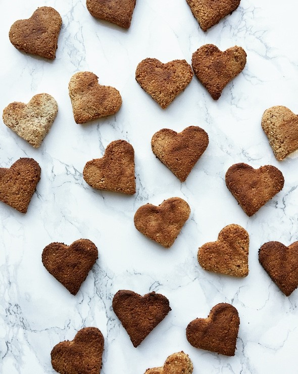 valentijn bitterkoekjes